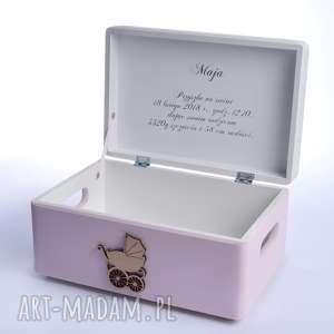 Prezent Pudełko na pamiątkę Urodziny Chrzest, metryczka, prezenty-dla-dzieci