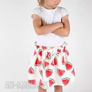 Spódnica w arbuzy, szyte, spódnica, lato, dziewczynka, arbuzy