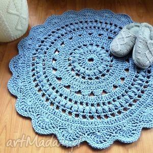 dywan ręcznie robiony 85 cm, dywan, dywanik, chodnik, chodniczek, dywany