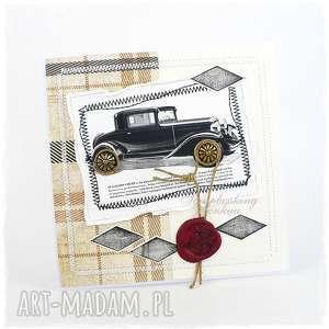 FORD Standard COUPE - kartka dla mężczyzny, samochód, auto, retro, ford, pieczęć