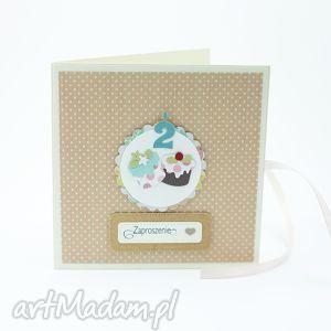 handmade zaproszenie zaproszenie/kartka na urodziny