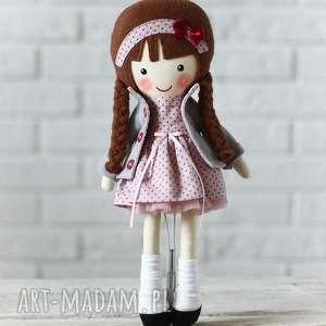 hand-made lalki malowana lala amelia