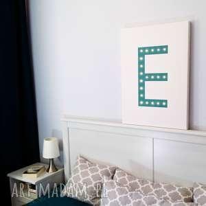 świecąca litera lampa obraz prezent dekoracja ślub, świecący, obraz, prezent, ślub