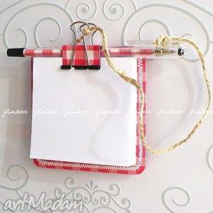 notesy notesik z magnesem #3, magnes, notes, kuchnia, lodówka