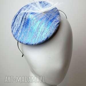 Disco blue ozdoby do włosów fascynatory fascynator, toczek