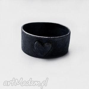 serduszko pierścionk