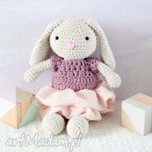 hand made zabawki króliczek matylda