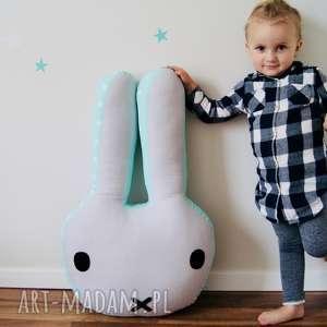 Poduszka Królik Gigant, poduszka, dziecko, królik, dekoracja, pokoik