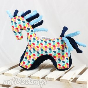 Koń etno - przytulanka sensoryczna zabawki nuvaart koń