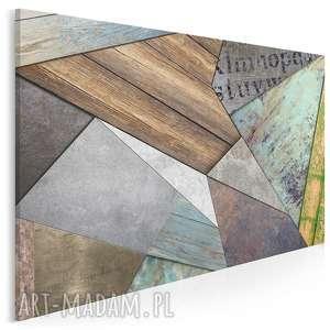 obraz na płótnie - wzór tekstury 120x80 cm 71901, wzór, tekstura, kształty