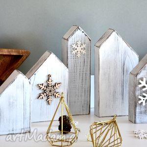 domki drewniane dekoracja w stylu skandynawskim - domki, domek, dekoracja, drewniane