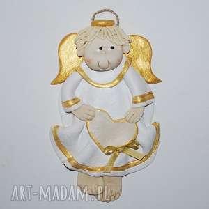 Pamiątka arka - aniołek dla dziecka magosza anioły, dekoracja