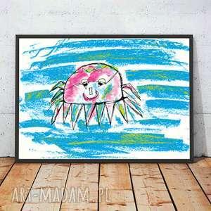 annasko ładny plakat do dziecięcego pokoju, kolorowy obrazek pokoju dzieci