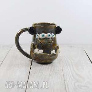 Prezent Potworniasty kubek ceramiczny, gwiazdka, prezent, do-kawy, do-pracy