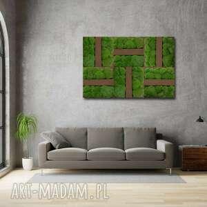 Dekoracja ścienna - obraz z mchem blink #61 ovo design dekoracja
