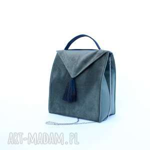 hand-made bbag royal green