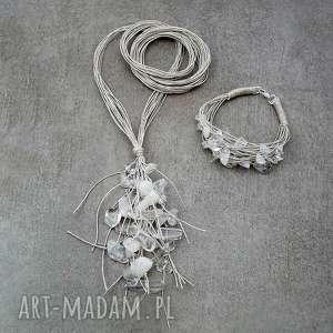 Prezent Kryształowy kłos - biżuteria z kamieniami, kryształowy, przezroczysty