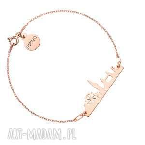 handmade bransoletki bransoletka z różowego złota londyn