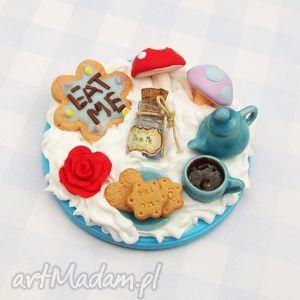 handmade lusterko alicja w krainie czarów dzień dziecka