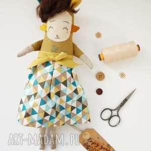 Prezent Lalka handmade z tkaniny - Żywia Monsterówna, lalka-waldorfska