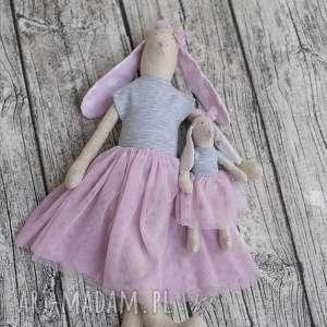 Tilda królisia Dobrusia z córeczką Lili, lalka, baletnice, dziewczynka, lala