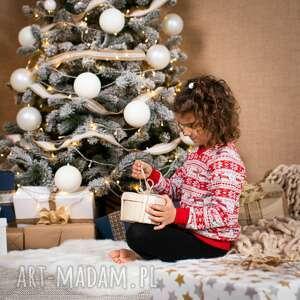 dla dziecka świąteczna bluza dziecięca christmas czerwona boże narodzenie zima