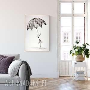 grafika 61 x 91 cm wykonana ręcznie, plakat, abstrakcja, elegancki minimalizm, obraz