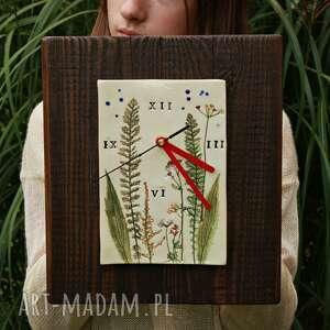 zegary zegar łąka, zegar, ścienny, pod choinkę prezent