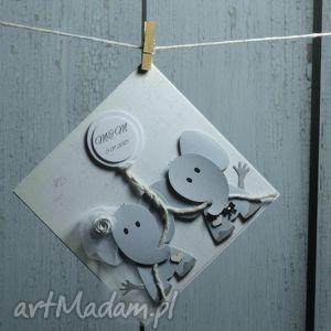 scrapbooking kartki słonikove love, słoń, szczęście, welon, muszka, ślub