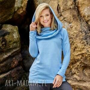 ręcznie wykonane bluzy puch bluza z dzianiny bawełnianej