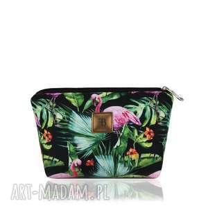KOSMETYCZKA SIMPLE 1213 FLAMINGI 2 , flamingi, kosmetyczka, simple, mala, pojemna