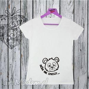 Manufaktura Koszulek! Koszulka z nadrukiem ciążowym, dla kobiety