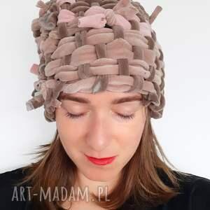 ręcznie wykonane czapki czapka tkana