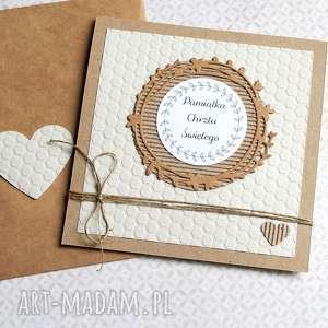 ręcznie wykonane kartki pamiątka chrztu świętego:: kartka handmade