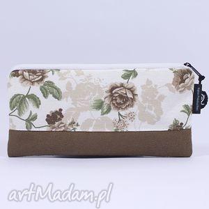 hand-made kosmetyczki piórnik flowers 04