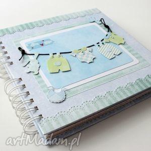 handmade scrapbooking albumy album dla chłopca