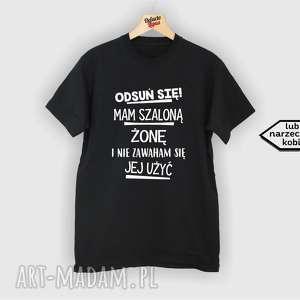 ręcznie wykonane pomysł na upominki koszulka z nadrukiem dla męża, prezent od żony