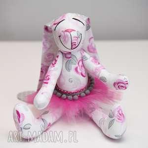 Królik z imieniem personalizacja zabawki artshoplalashop królik