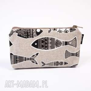 handmade kosmetyczki w rybki