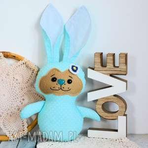 maly koziolek króliczek do tulenia - ewcia typ 2, królik, dziewczynka