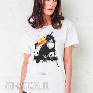 TOUCAN PAINTED Oversize T-shirt, oversize