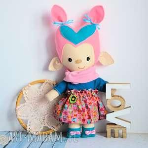 lala - troll foszka 46 cm, lalka, troll, dziewczynka, las, bajka, urodziny