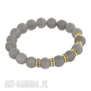 lavoga zircons & stones - mat grey agate