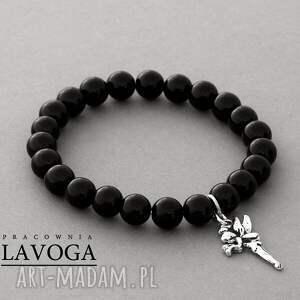 Jade with pendant in black. - ,zawieszka,jadeit,