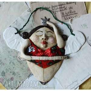 baletnica w koronie, ceramika, baletnica, królowa, anioł