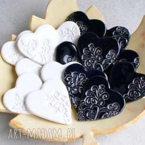 upominki dla gości, upominki, magnesy, serce, podziękowanie, romantyczne, wesele