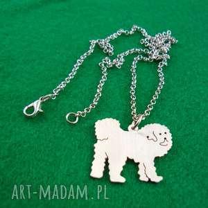 naszyjnik mastif tybetański pies nr 66, naszyjnik, pies, rasy-psów, rękodzieło
