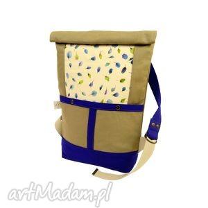 plecaki plecak indygo , plecak, boho, romantyczne, kwiatowy, unikatowy, wygodny