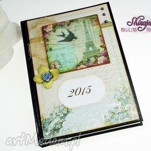 kalendarz 2015 -pocztówka z paryża, 2015, kalendarz, książkowy, paryż, francja