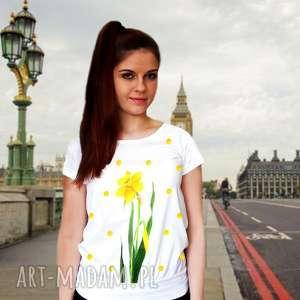koszulki komfortowa koszulka damska ręcznie malowana, bluzka